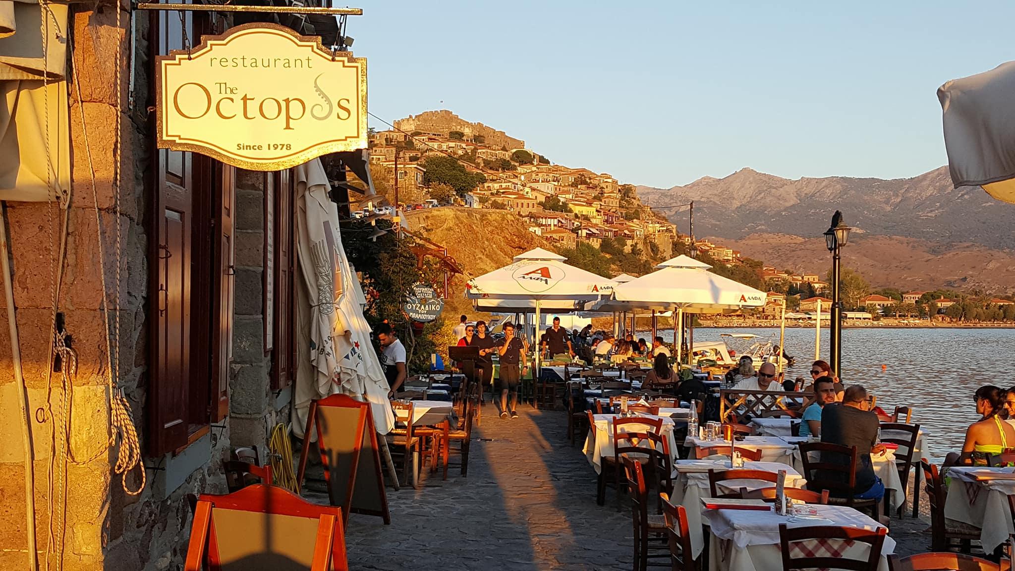 Octopus Restaurant Molivos